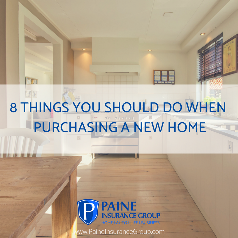 8 Things You Should Do When Purchasing A New Home